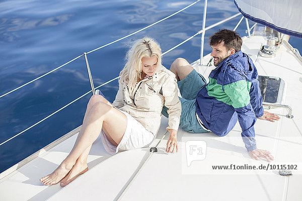 Entspannung jung Adriatisches Meer Adria