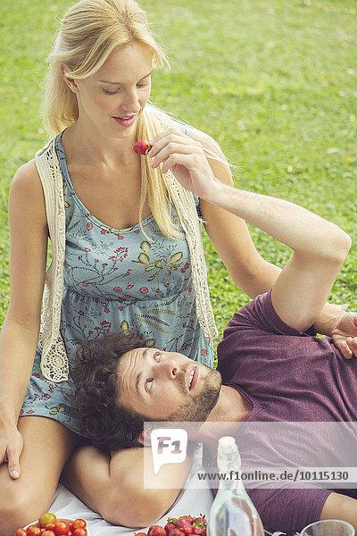 Zusammenhalt Picknick