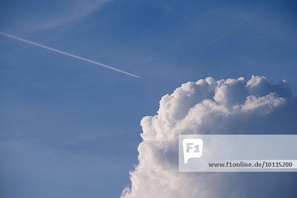 Wolke Himmel blau flauschig Wolke,Himmel,blau,flauschig