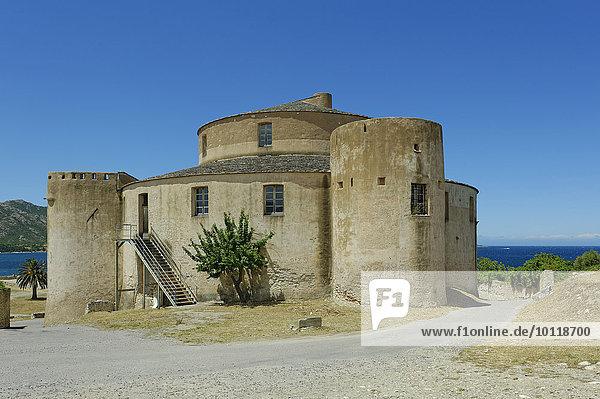 Zitadelle von Saint Florent  Département Haute-Corse  Nebbio  Nordküste  Korsika  Frankreich  Europa