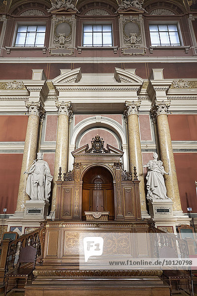 Festsaal der Wiener Universität  im Stil des Historismus  Wiener Ringstraße  Wien  Österreich  Europa