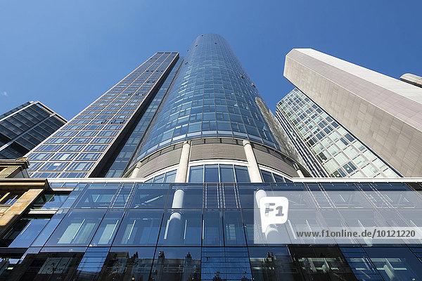 Main Tower  Frankfurt am Main  Hessen  Deutschland  Europa