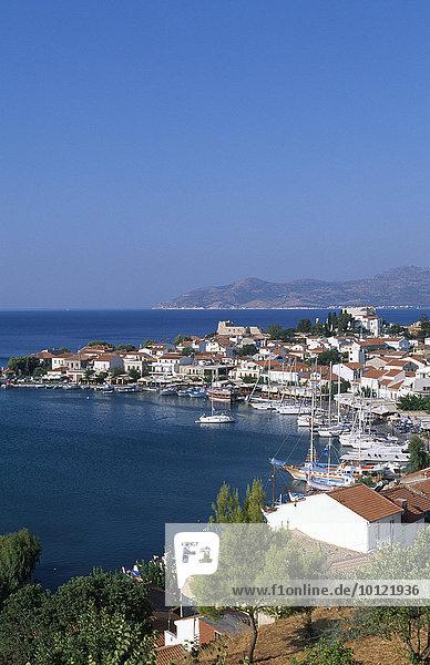 Bucht  Pythagorio  Samos  Griechenland  Europa