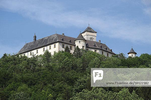 Schloss Greifenstein  Oberfranken  Bayern  Deutschland  Europa