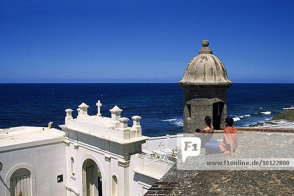 La Fortaleza  San Juan  Puerto Rico  Karibik  Amerika  Nordamerika