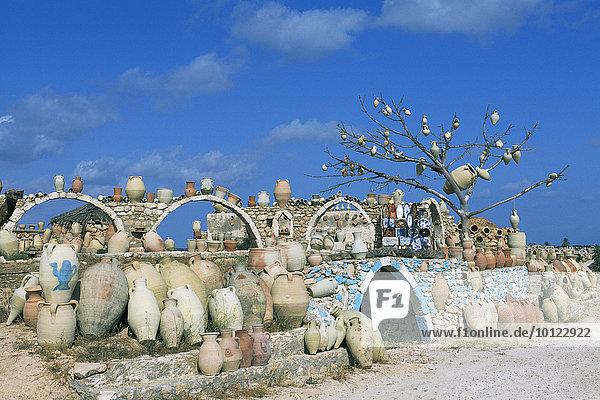 Töpferei  Guellala  Djerba  Tunesien  Afrika