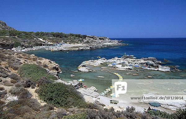 Thassos Beach  Rhodos  Dodekanes  Griechenland  Europa