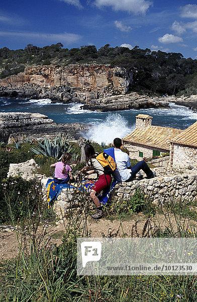 Cala S´Amonia  Mallorca  Balearen  Spanien  Europa