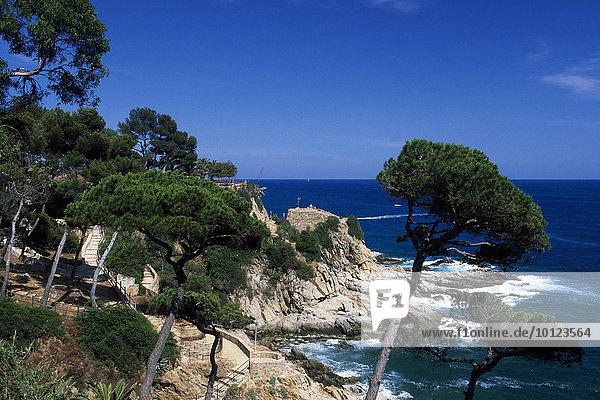 Lloret de Mar  Costa Brava  Katalonien  Spanien  Europa