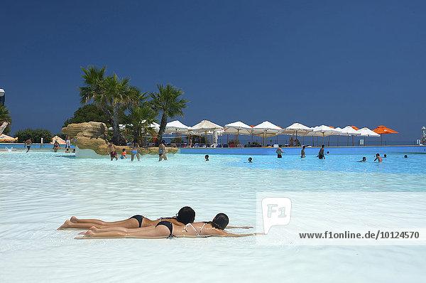 Pool des Splash und Fun Park  Malta  Europa