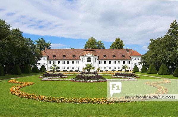 Hofgarten und Orangerie  Kempten im Allgäu  Bayern  Deutschland  Europa