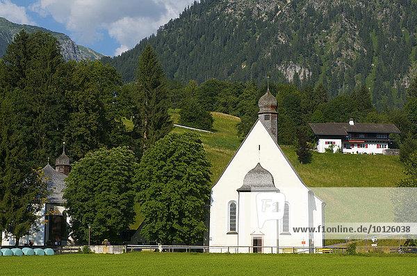 St. Loretto Kapelle  Oberstdorf  Allgäu  Bayern  Deutschland  Europa