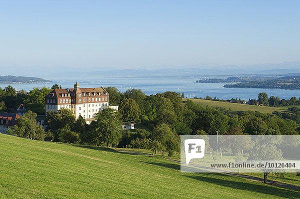 Schloss Spetzgart bei Überlingen am Bodensee  Baden-Württemberg  Deutschland  Europa