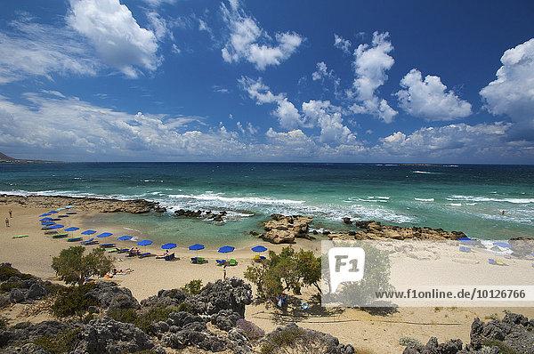 Falasarna Beach  Westküste  Kreta  Griechenland  Europa