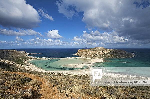 Balos Beach  Gramvousa Halbinsel  Kreta  Griechenland  Europa