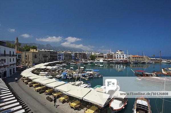 Hafen von Girne or Kyrenia in Nordzypern  Zypern  Europa