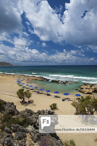 Falasarna Strand  Westküste  Kreta  Griechenland  Europa