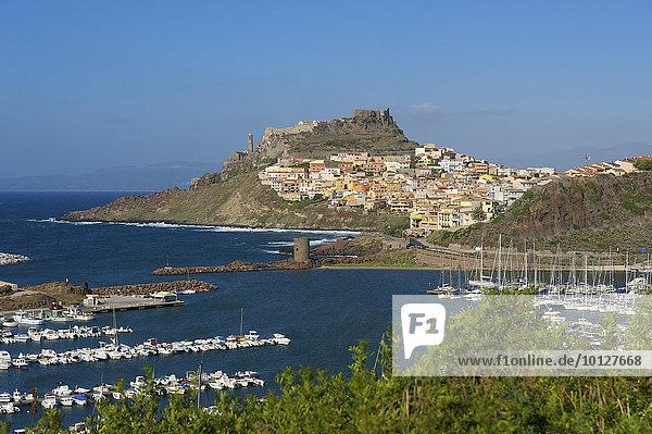 Castelsardo  Sardinien  Italien  Europa