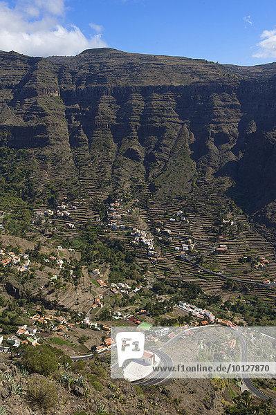 Eremita de San Antonio  Valle Gran Rey  La Gomera  Kanaren  Spanien  Europa
