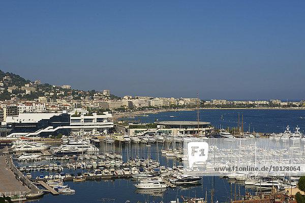 Yachthafen  Cannes  Côte d?Azur  Département Alpes-Maritimes  Provence-Alpes-Côte d?Azur  Frankreich  Europa