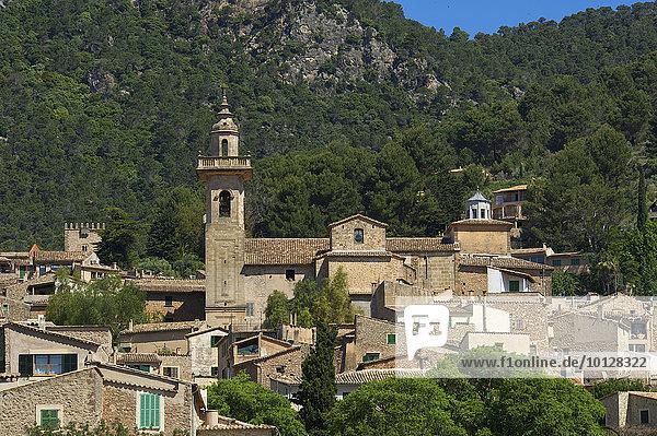 Ortsansicht  Valldemossa  Mallorca  Balearen  Spanien  Europa