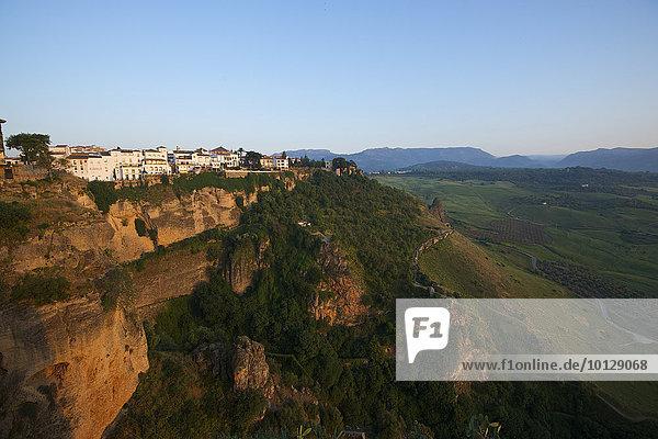 Ortsansicht  Weißes Dorf  Ronda  Costa del Sol  Andalusien  Spanien  Europa