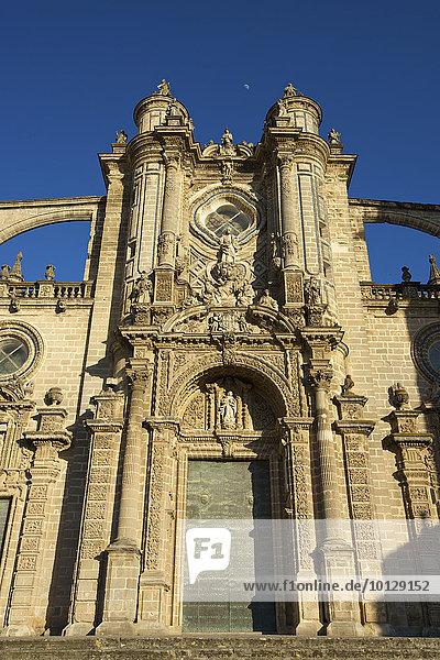 Kathedrale La Colegiata del Salvador  Jerez de la Frontera  Andalusien  Spanien  Europa