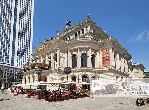 Alte Oper  Frankfurt am Main  Hessen  Deutschland  Europa