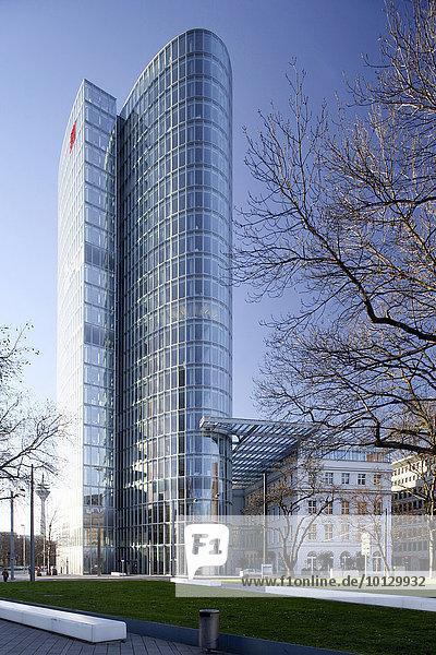 Bürohochhaus GAP 15  Düsseldorf  Rheinland  Nordrhein-Westfalen  Deutschland  Europa
