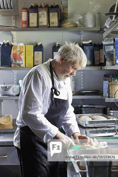 Lebensmittel Vorbereitung Köchin