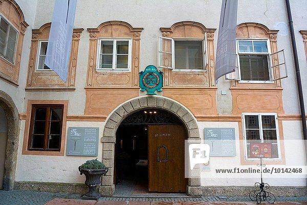 Europa Restaurant Altstadt Österreich Salzburg Jahr