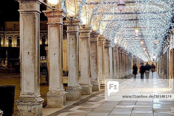 Europa Markusplatz UNESCO-Welterbe Italien