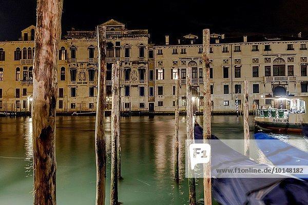 Europa UNESCO-Welterbe Canale Grande Italien