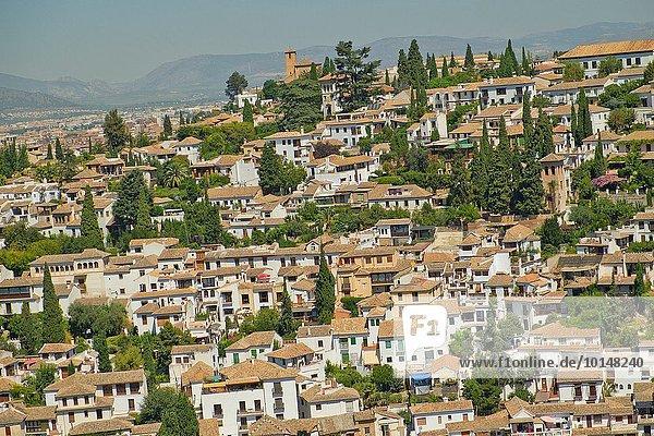Europa Nachbarschaft UNESCO-Welterbe Alhambra Granada Spanien