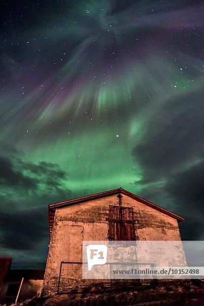 Winter Polarlicht Naturerscheinung Aurora borealis