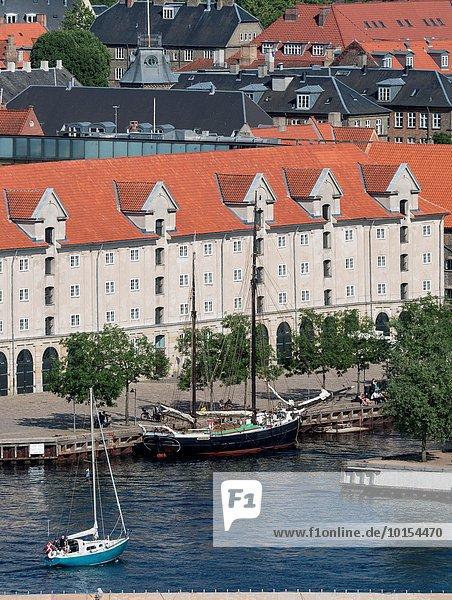 Hafen Boot Dänemark Apartment Kopenhagen Hauptstadt Zimmer Christianshavn