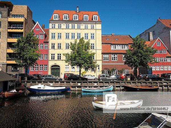 Hafen Boot Dänemark Apartment Kopenhagen Hauptstadt Zimmer Christianshavn modern