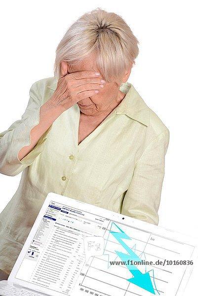 sehen Senior Senioren bankrott Business