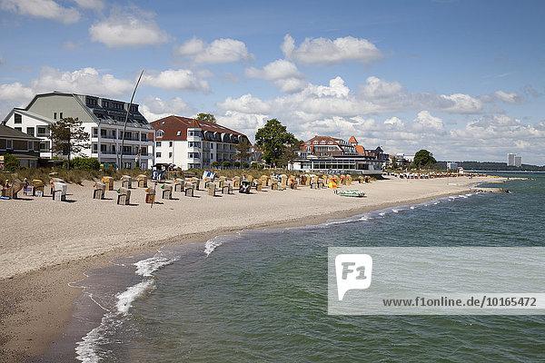 Strand und Küste  Niendorf Ostsee  Timmendorfer Strand  Lübecker Bucht  Schleswig-Holstein  Deutschland  Europa