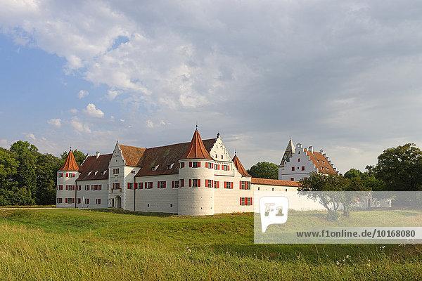 Ehemaliges Jagdschloss Grünau  Neuburg an der Donau  Oberbayern  Bayern  Deutschland  Europa