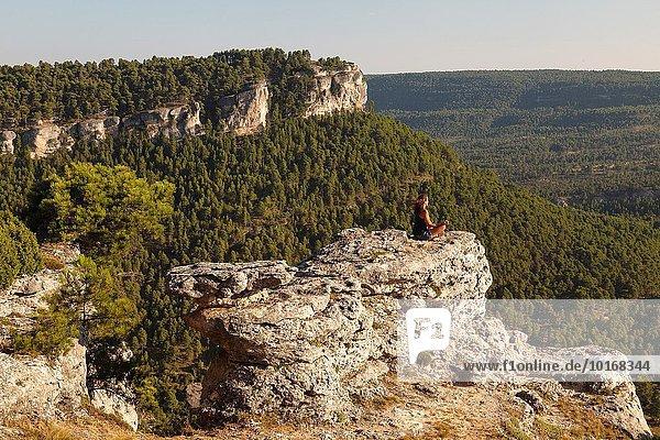 Landschaft Provence - Alpes-Cote d Azur Cuenca Spanien