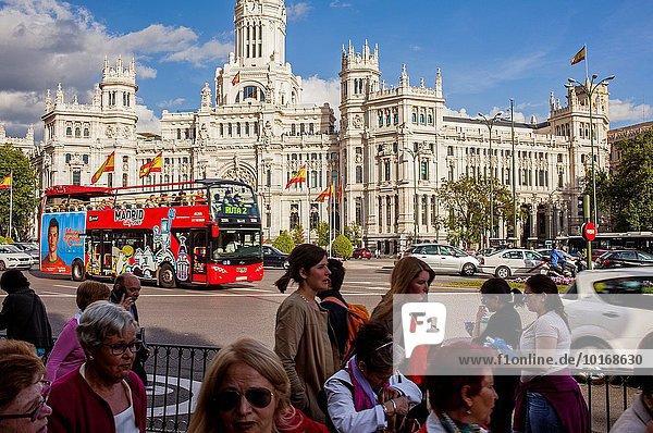 Madrid Hauptstadt Palast Schloß Schlösser bauen Spanien