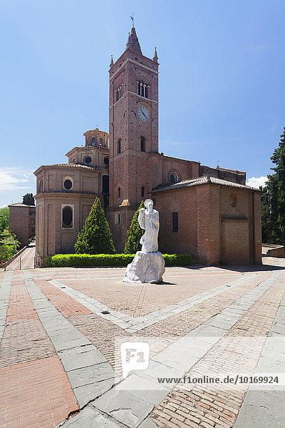 Abtei Monte Oliveto Maggiore  Toskana  Provinz Siena  Italien  Europa