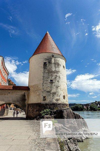 Fluss Hotel Deutschland Niederbayern Passau Schaiblingsturm