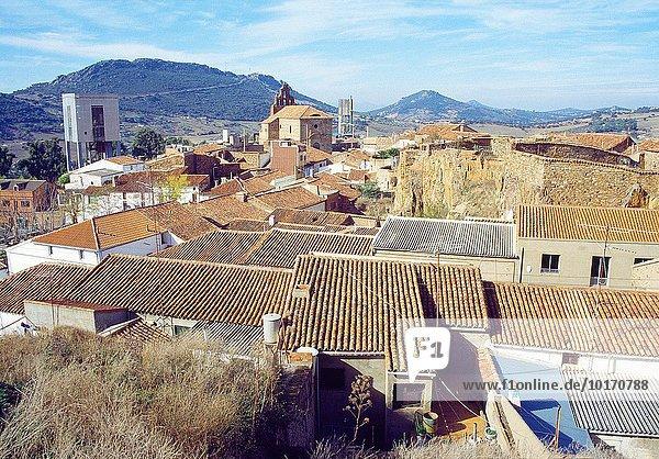 Overview. Almaden  Ciudad Real province  Castilla La Mancha  Spain.