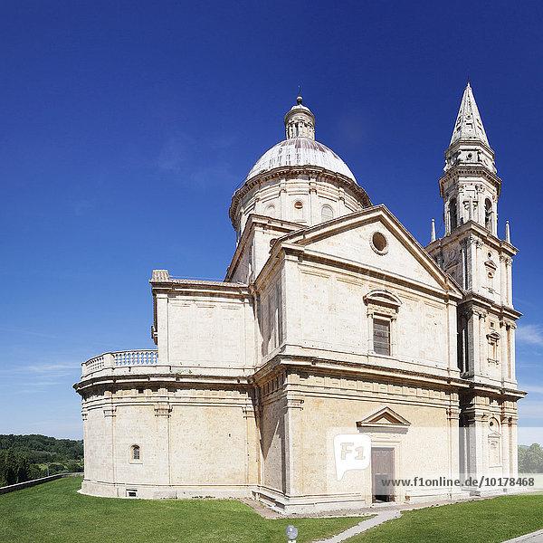 Kirche San Biagio  Montepulciano  Toskana  Provinz Siena  Italien  Europa