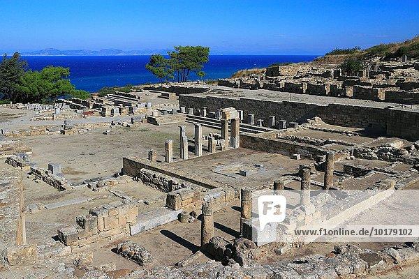 Kamiros Kameiros Dodekanes Griechenland Rhodos
