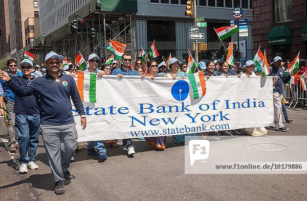 Tag Indianer Marken Bank Kreditinstitut Banken Unabhängigkeit Madison neu Parade