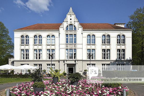 Altes Kurhaus  Kurbezirk  Bad Hamm  Nordrhein-Westfalen  Deutschland  Europa