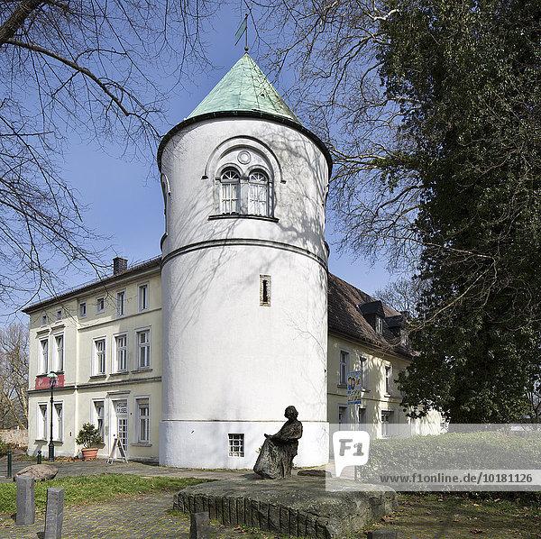 Ehemalige Burg Unna  heute Hellweg-Museum  Unna  Ruhrgebiet  Nordrhein-Westfalen  Deutschland  Europa